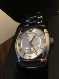 Genuine Armani Mens Watch and display case RRP £210 selling £120
