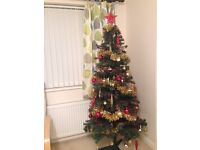 Artificial Christmas Tree, 6ft tall