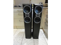 Great British audiophile Mission M66i Floorstanding speakers perfect sounding