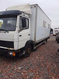 LHD 1996 MERCEDES 814 lorry export or spears or repair