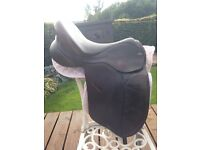 Dressage Saddle 17inch professional quality