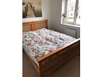 Pine King Size Bed Frame