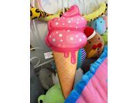 ice cream plush