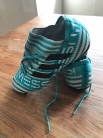 Adidas nemesis boots with control strip