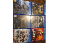 Sony Playstation 4 (Great Condition) - Slim 500GB - 1 Controller - 6 Games