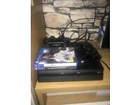 PS4 Slim 1TB with 2 controllers and 2 games