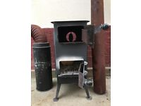 Small stove for shed or workshop