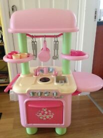 Mothercare child's play kitchen.