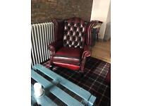 Chesterfield sofas and chairs for sale (KIRKCALDY)