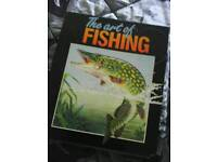 Catch fishing folders 6complete 7in total,sensible offers please as brought weekly