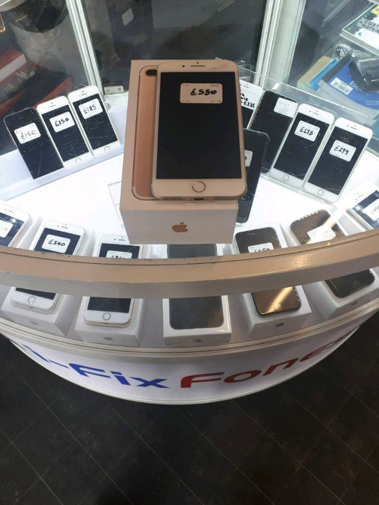 Iphone 7 plus 32gb unlocked gold boxed Apple warranty