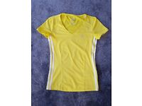 Adidas Ladies top Size XS/S Yellow