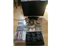 Playstation 3 + TV + 3 controlers + Games