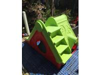 Garden Playhouse with slide