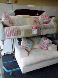 Dfs capsule patchwork sofa set