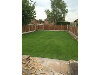 turfing and landscaping