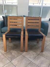 M & S Sonoma Dining Chairs x 2