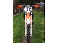 Ktm 250 sx motocross bike