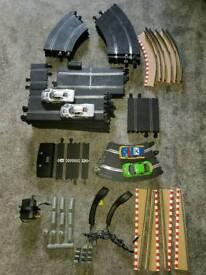 Scalextric Le Mans 24hr Mercedes CLK GT1 Set + Extra Track & Cars Bundle