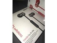 Beats by Dre wireless headphones/ earphones