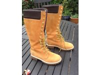 Timberland Long Length Classic Boots size 5