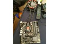 I7-4770, motherboard and aio combo
