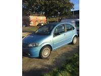 Citroen C3 1.4 HDI 2002 moted but needs gearbox