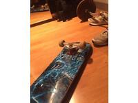 Dark star skate board cost £140