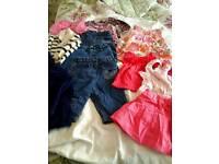 BUNDLE GIRLS CLOTHES AGE 6/9 MONTHS