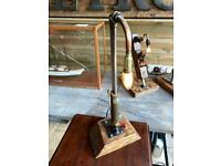 Steampunk lamps, Choice of 2 different designs, Great for any home Very unique,