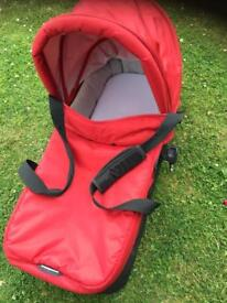 Baby jogger carry cot