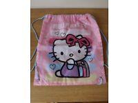 Hello Kitty Swim/ Gym Bag