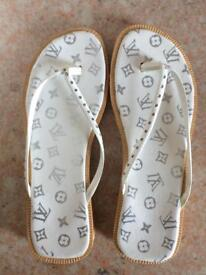 3 pairs of Sandals/Beach Shoes £10