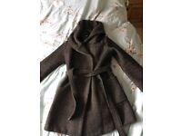 Maternity coat. Size 12.
