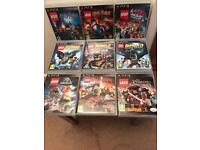COMPLETE SET OF PS3 LEGO GAMES