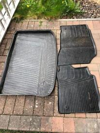 Audi A1 boot lining and mats