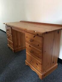 Pine dressing table - need gone asap