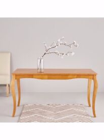 Alisha 150 cm Solid Wood Dining Table