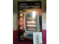 Lloytron Halogen Heater-1600W-Four Heat Settings-New-Never Been Used-Proceeds To Local Charity
