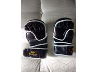 MMA gloves and leg guards
