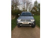 Mitsubishi L200 Warrior, 14 Plate with Truckman Canopy