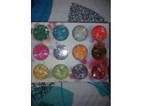 YS professional nail foil flakes kit
