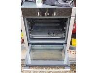 Neff slide and hide single oven