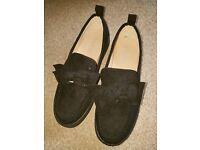 Black ladies loafers