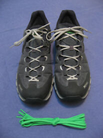 Men's Meindl approach shoes, size 11. Suede/Gore tex. In original box. Only worn once.