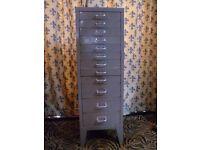 oldSTOR all steel a4 filing cabinet £30 07774235301