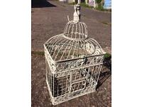 Ornamental bird cage - perfect for weddings! £10