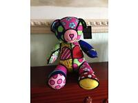 Britto plush build a bear NEW £20
