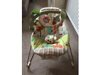 NEW Fisher Price vibrating/musical Baby Bouncer