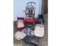 Full Travel System 3in1, Bugaboo Cameleon inc Maxi Cosi Car Seat. Excellent condition. P&S free.